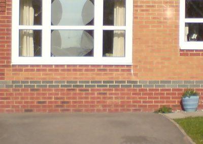 Brickwork 3 Allt Y Wennol Pontpreneu, Garage conversion